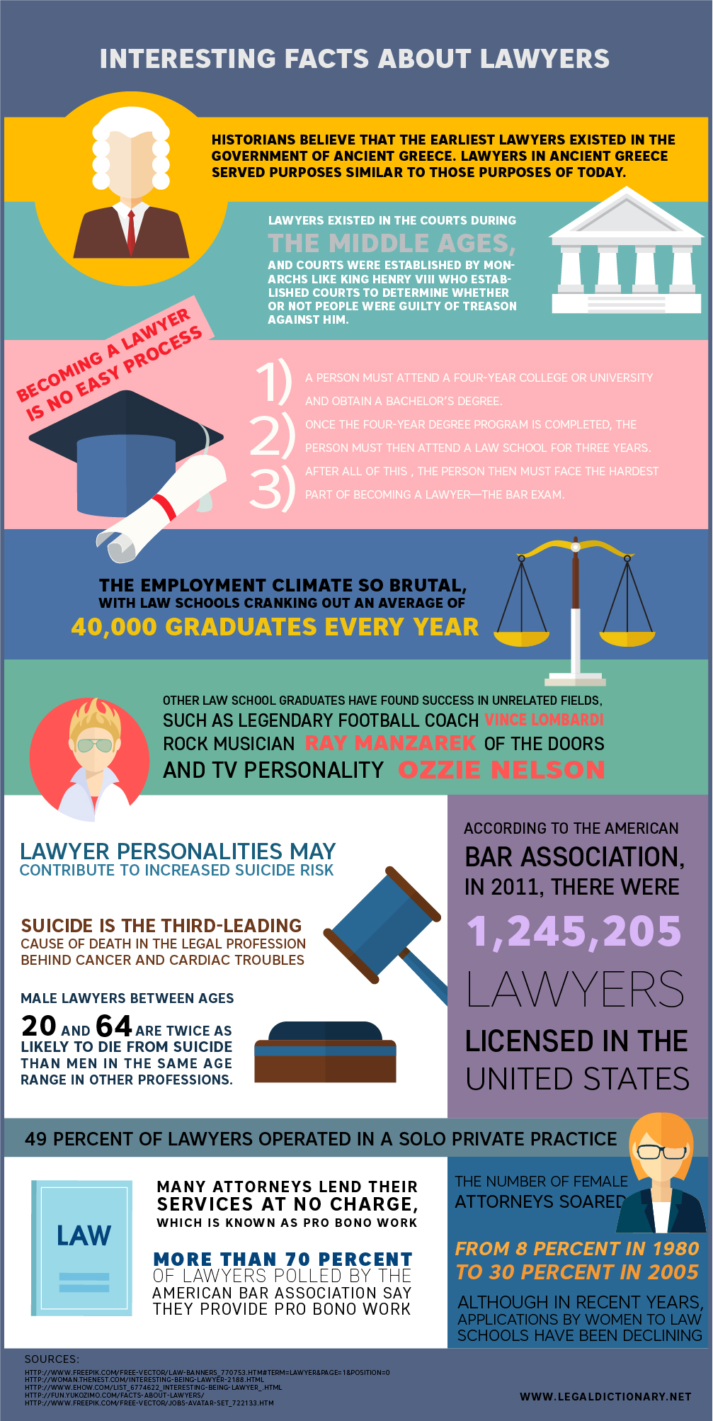 Lawyer Infographic