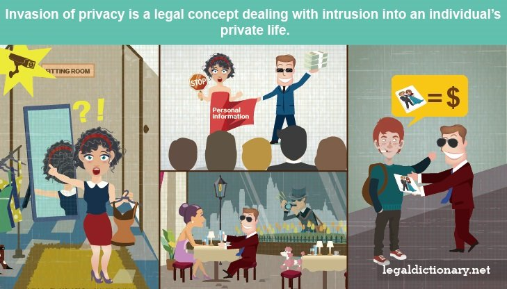 Invasion Of Privacy Law And Legal Definition
