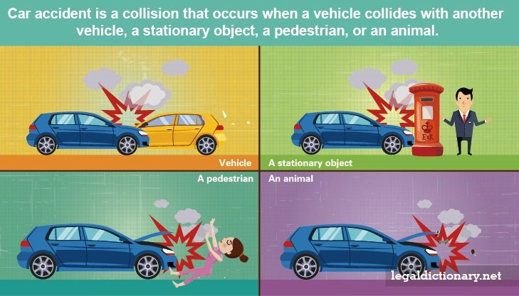 Car Accident Stationary Object